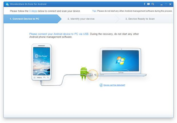 recover SMS from android phone