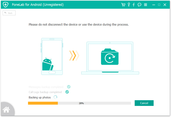 backup WhatsApp messages from Samsung to PC