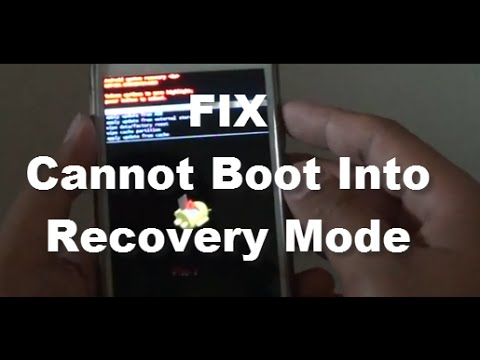 Boot Samsung into Stock or Custom Recovery Mode