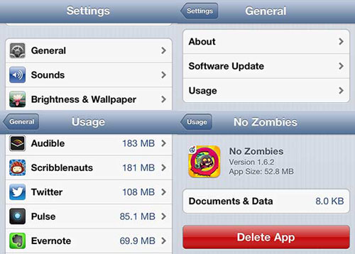 5 Ways to Delete any App from your iPhone or iPad