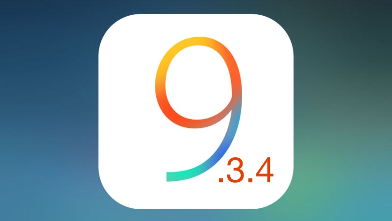 downgrad ios 9.3.4
