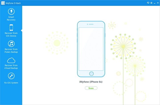 Recover iphone lost contacts, Recover contacts from iphone - main screenshot