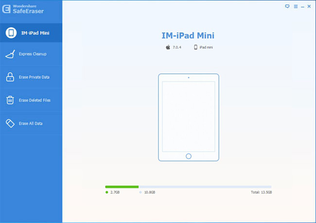 Erase All Data from iPad