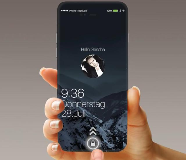 Fabulous design, iPhone7 force equipped with high-definition format iOS10 system conceptual design