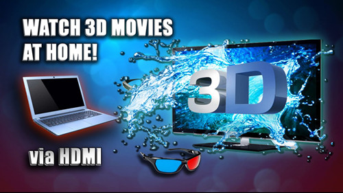 play 3D movies on Samsung Smart TV