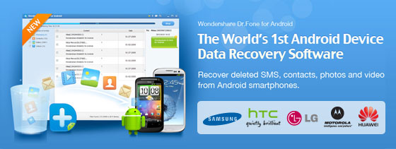 Android Phone Data Recovery to restore lost data on your android mobile phone