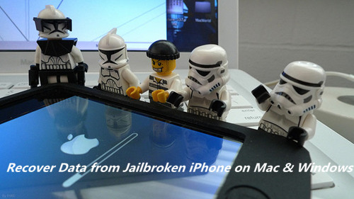 recover data from jailbroken iPhone on Mac