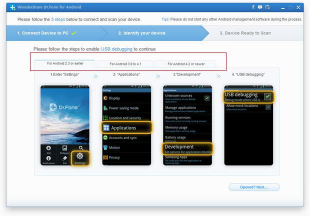 recover text messages from android phone