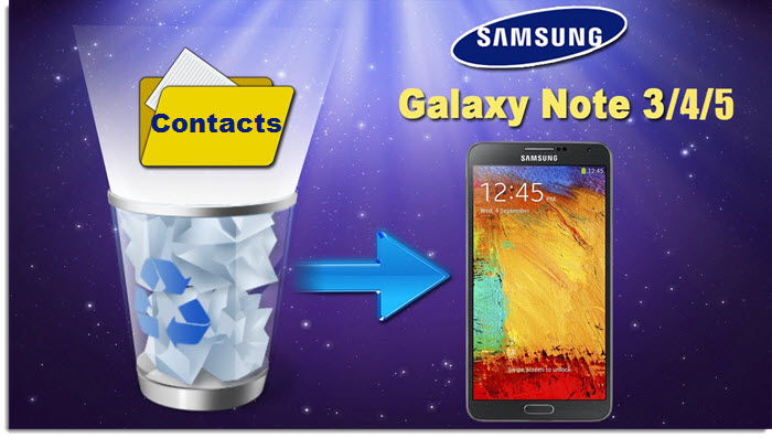 galaxy s5 contacts recovery