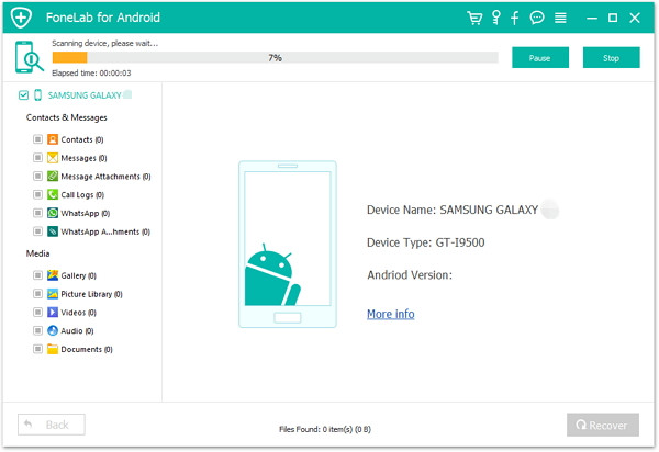 recover lost contacts from samsung
