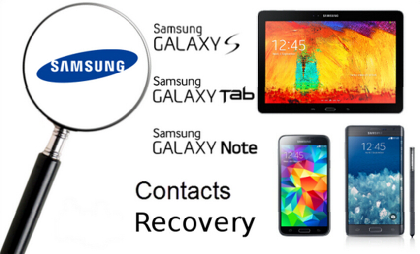 Scan and Recover Deleted Contacts from Samsung phone