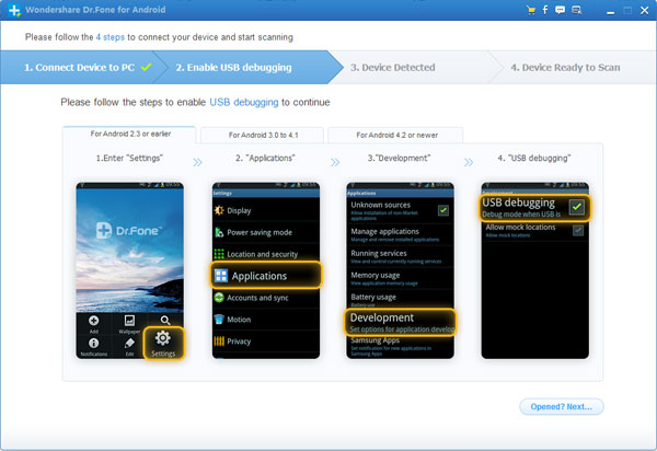 recover lost data from galaxy note