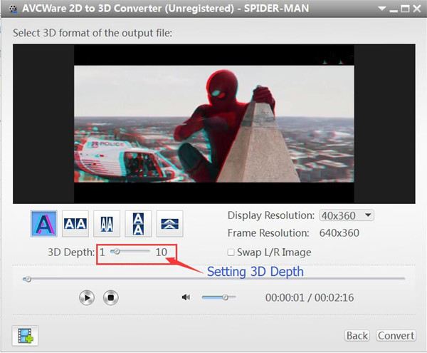 2d to 3d video conversion software free download