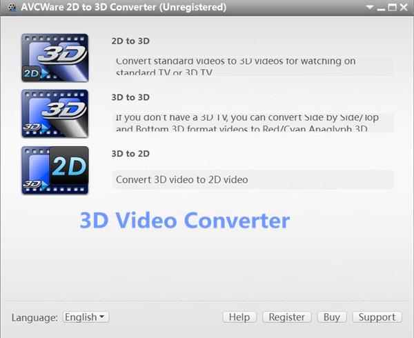 3d video converter for Samsung TV