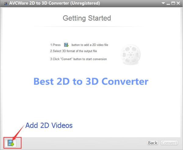 convert 2D movies to 3D for Samsung TV
