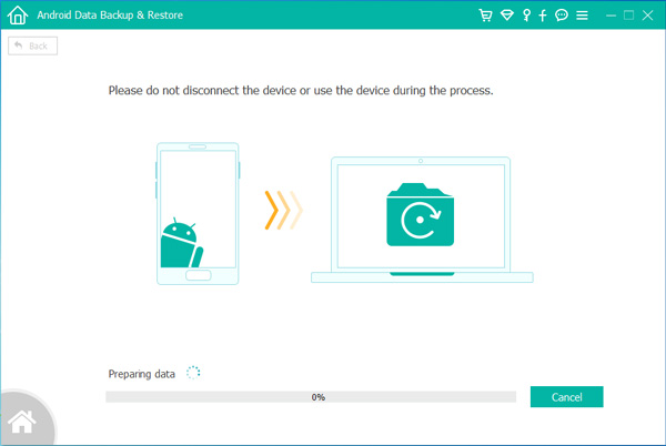 backup your android to computer
