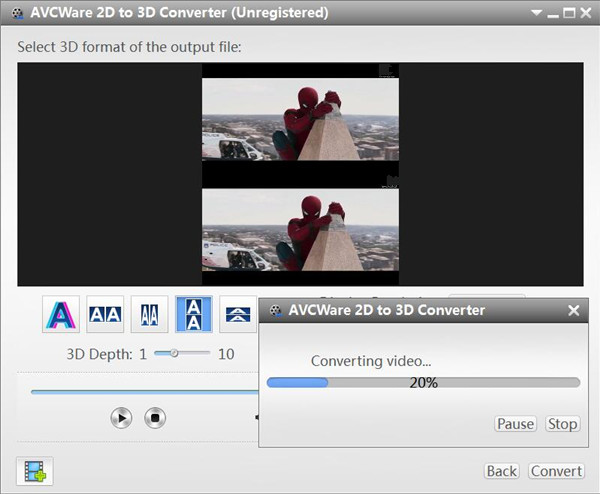 Convert 2D Movies to 3D for Samsung Smart TV