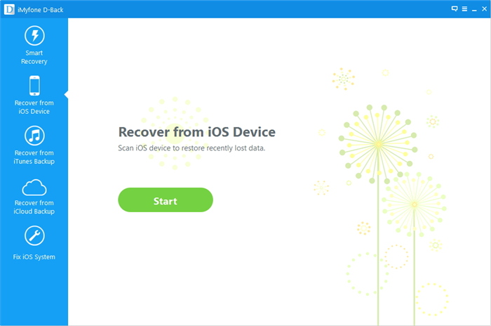 recover sms from iOS device