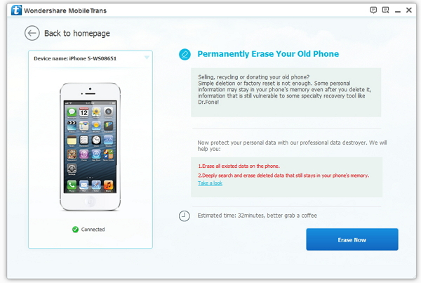 delete iphone ipad data permanently