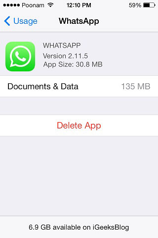How to delete whatsapp messages on iphone 8