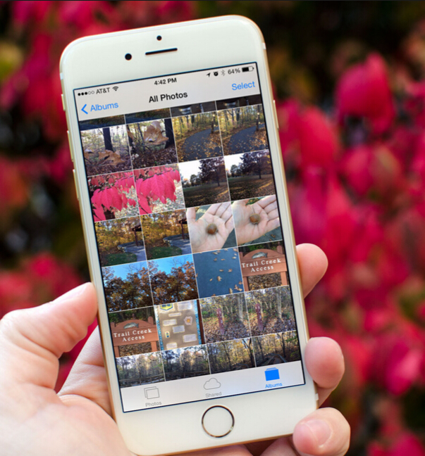 deleted photos on iphone 6