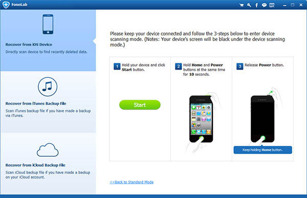 get back lost contacts from iPhone: restore contacts data from iOS device directly