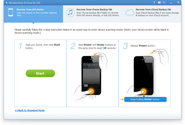 recover deleted photos from iPhone directly