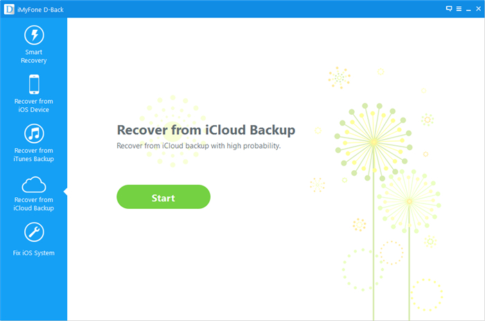 restore iPhone data from iCloud