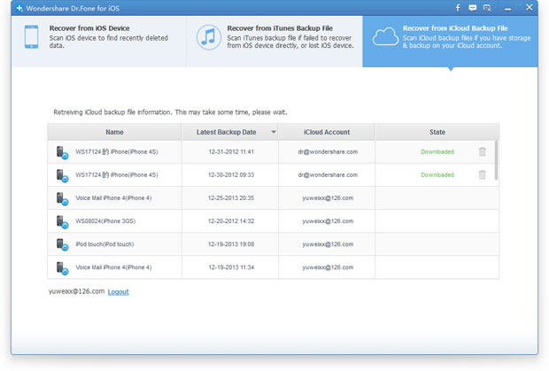 recover iPhone photos from iCloud backup file