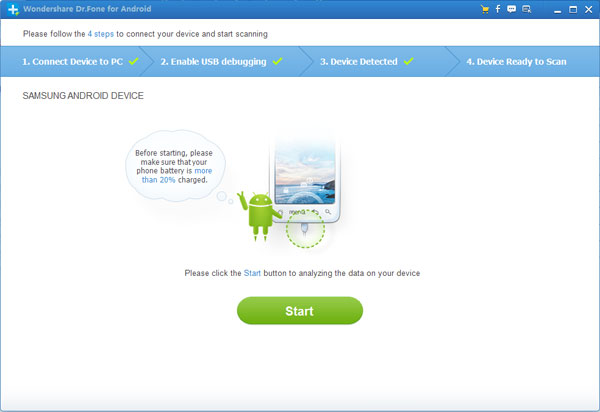 Backup and Restore Lost Contacts from Samsung
